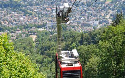Besichtigung Luftseilbahn Adliswil-Felsenegg LAF